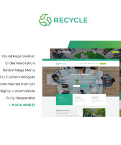 Recycle Theme – Environmental & Green Business WP Theme
