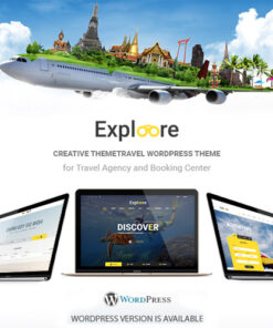 EXPLOORE WP Theme or Tour Booking Theme