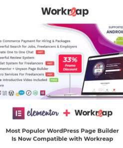 Workreap Theme – Freelance Marketplace WordPress Theme